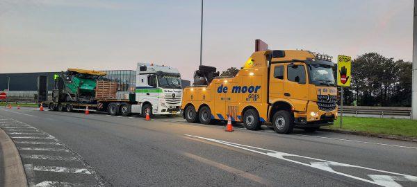 Vrachtwagen repatriering en Internationale vrachtwagen berging belgie, luxemburg frankrijk en duitsland
